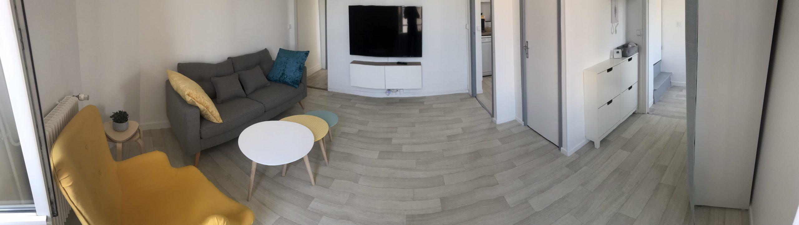 Duplex accueillant et lumineux de 68m²